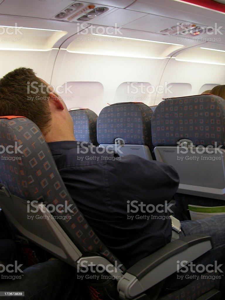 Aircraft - Asleep royalty-free stock photo