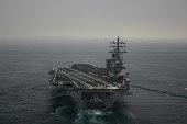 Aircraft Carrier off San Diego