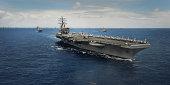 Aircraft Carrier USS Ronald Reagn (CVN 75)