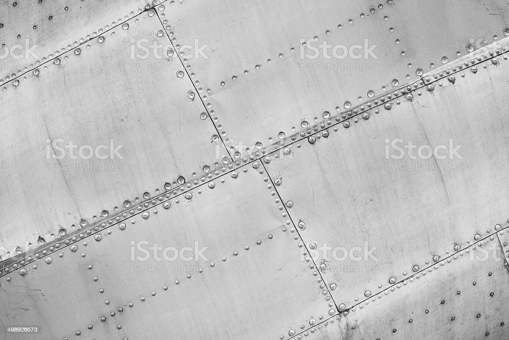 Aircraft construction. stock photo