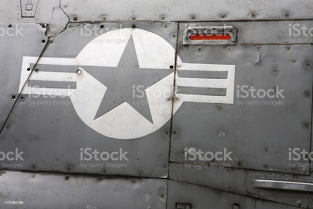 Aircraft detail royalty-free stock photo