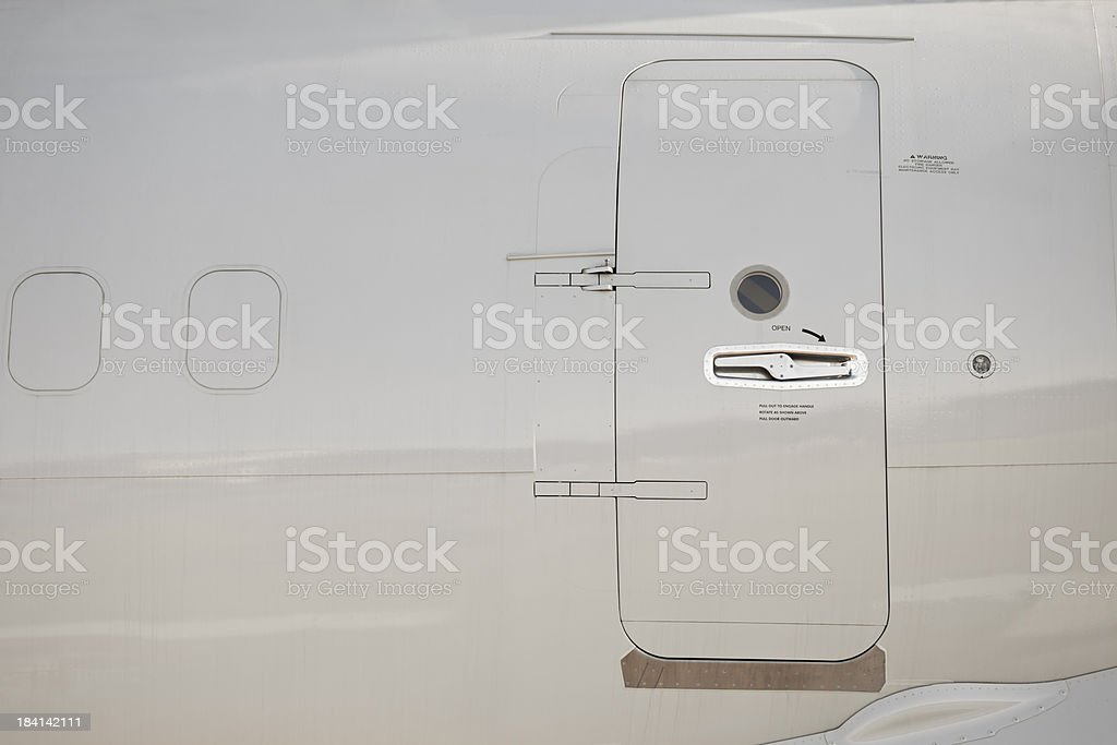 Aircraft Detail stock photo