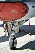 Aircraft detail with landing gear