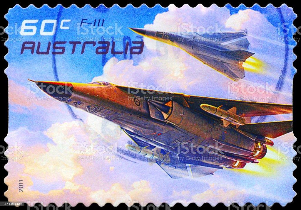 Aircraft F-111 royalty-free stock photo