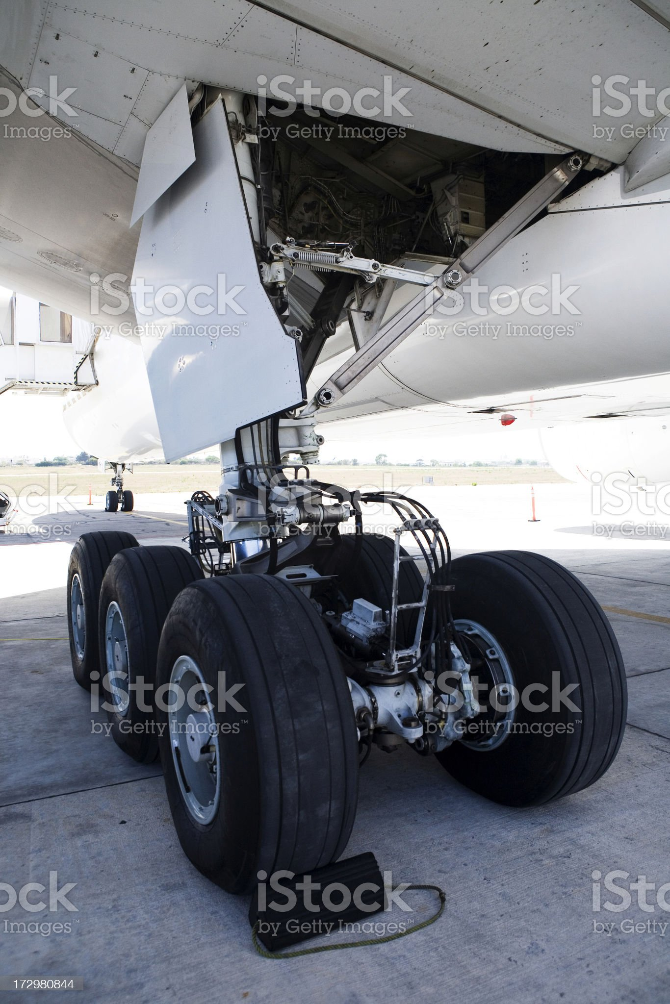 Aircraft Landing Gear royalty-free stock photo