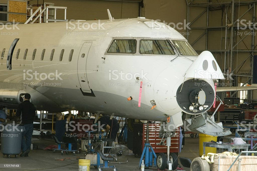 Aircraft Maintenance royalty-free stock photo