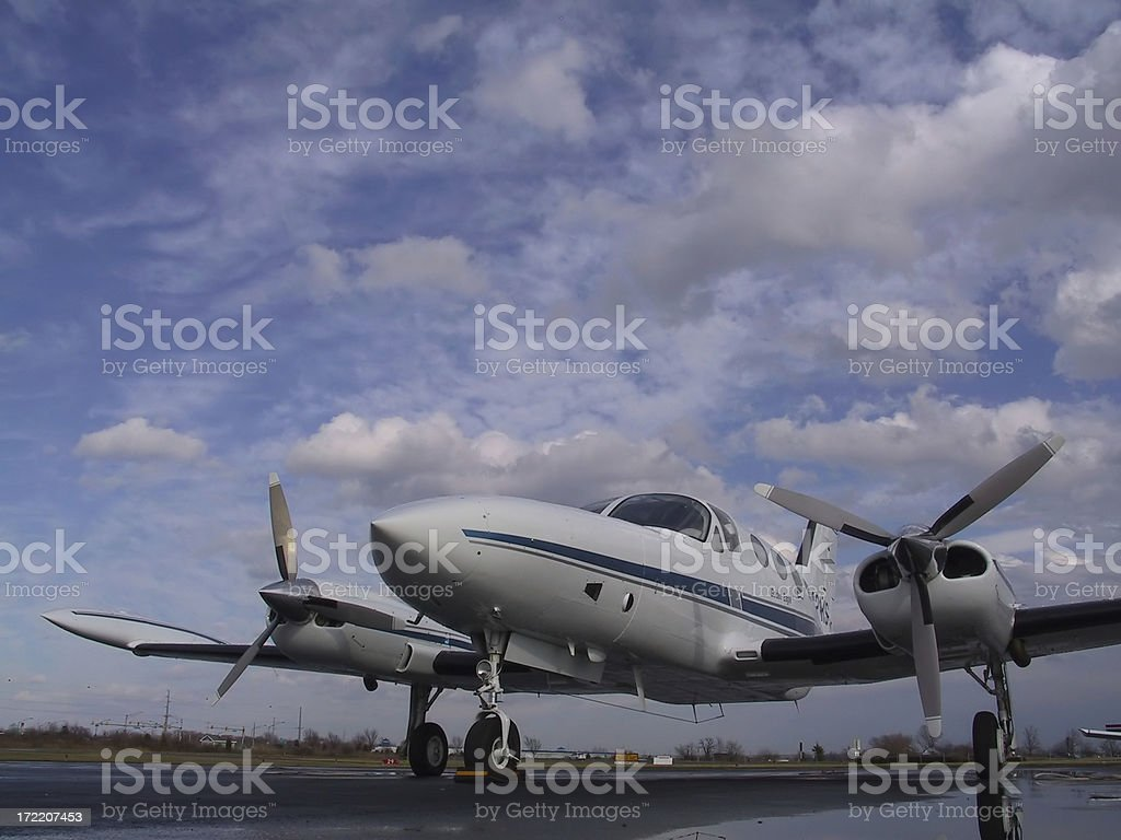 aircraft (airport) royalty-free stock photo