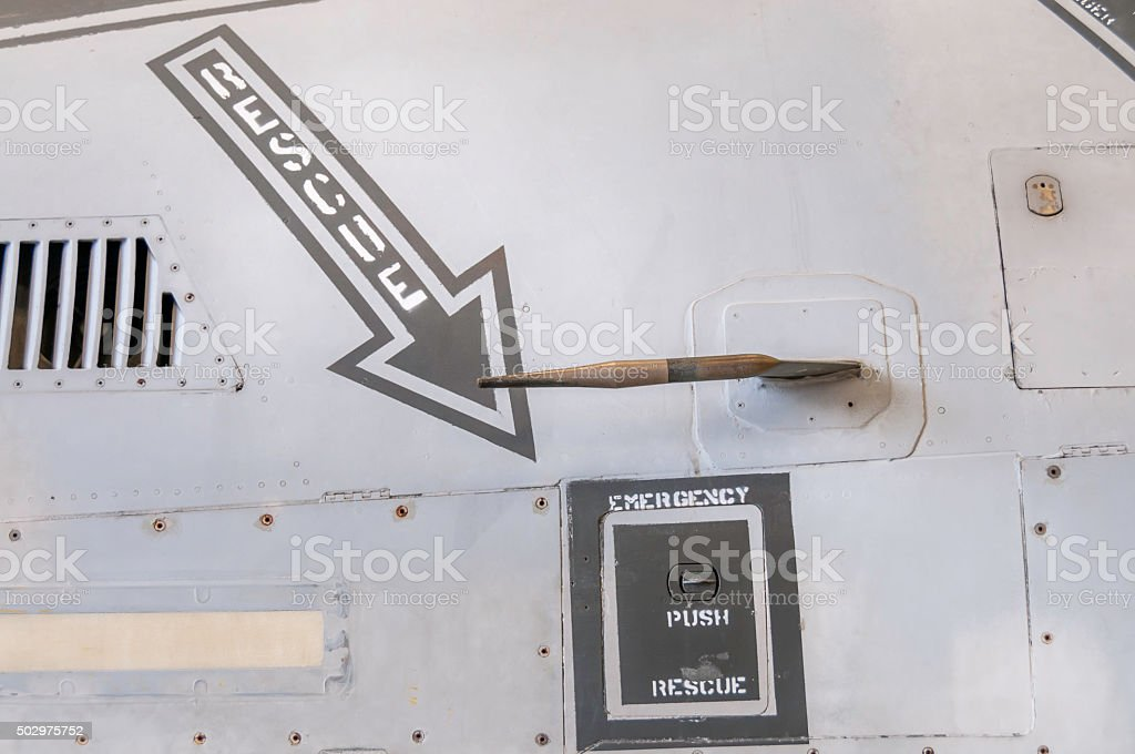 Aircraft Rescue stock photo