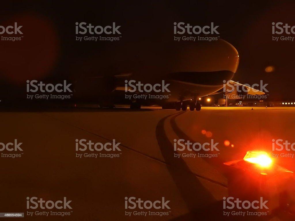 Aircraft Safeguarding stock photo