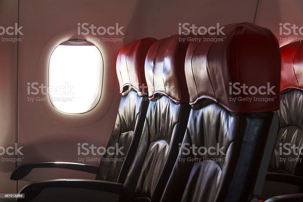 Aircraft Seats royalty-free stock photo