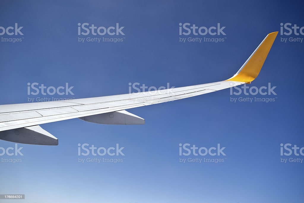Airfoil royalty-free stock photo