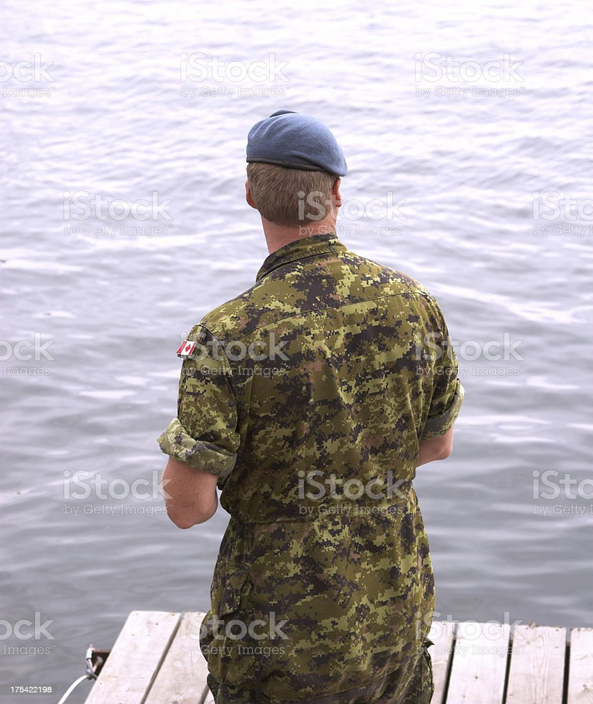 Airforce recruit stock photo