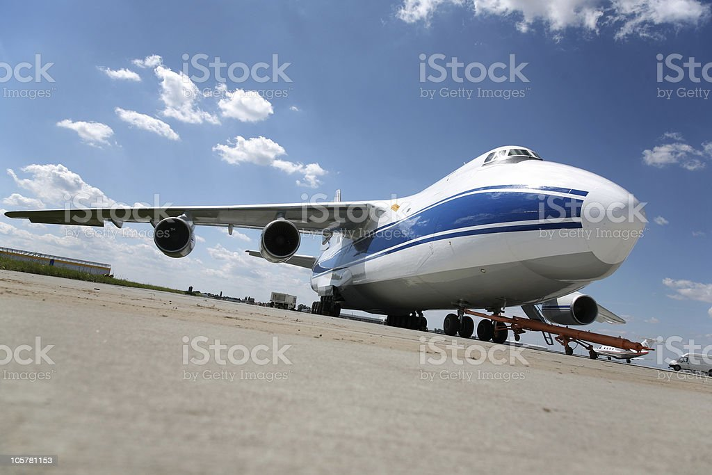 air-freight stock photo