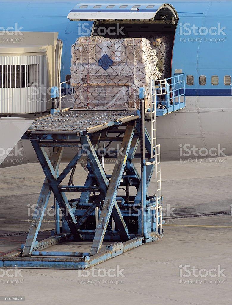 Airfreight stock photo