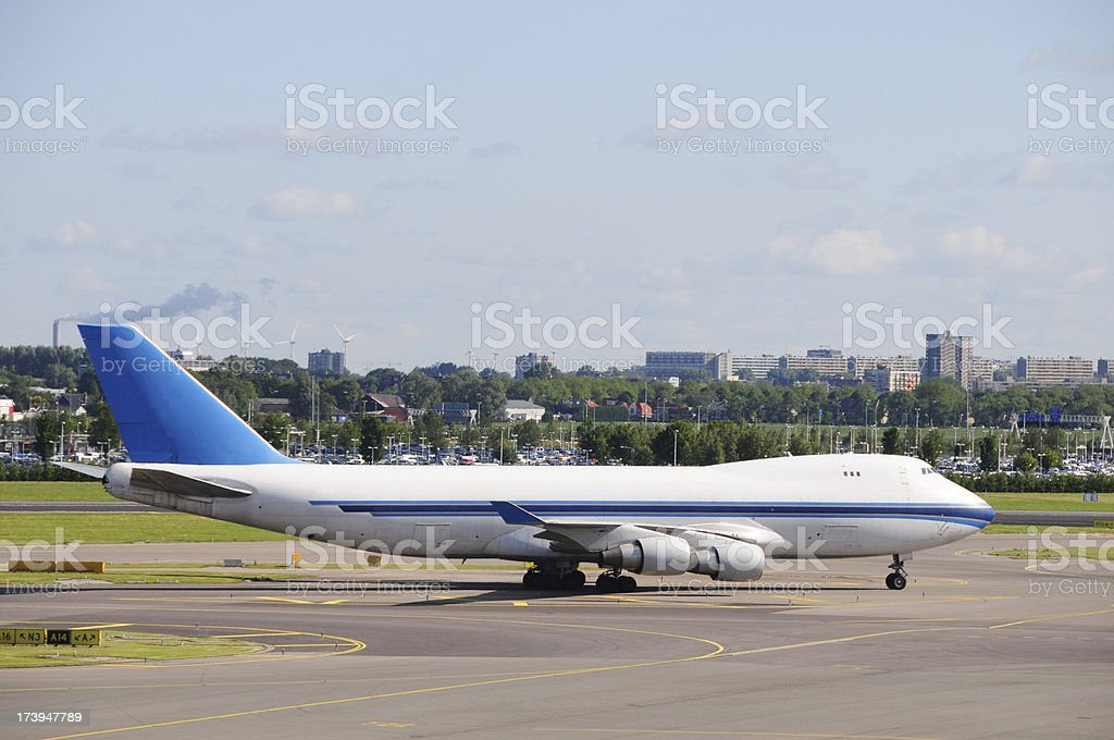 Airline Industry - Cargo airplane royalty-free stock photo
