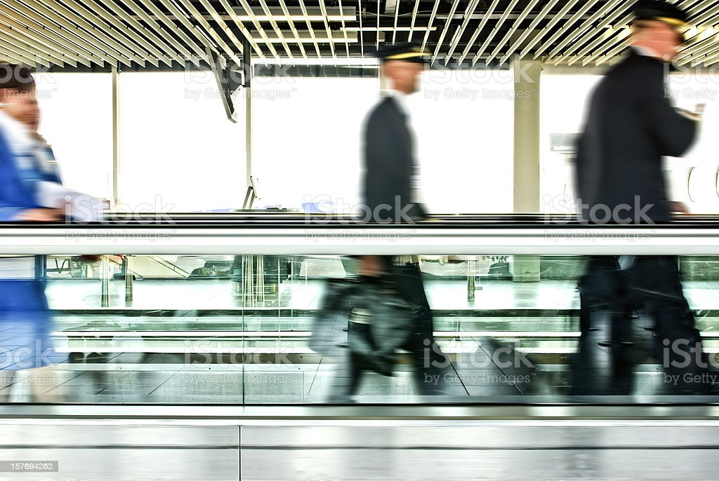 airline staff royalty-free stock photo