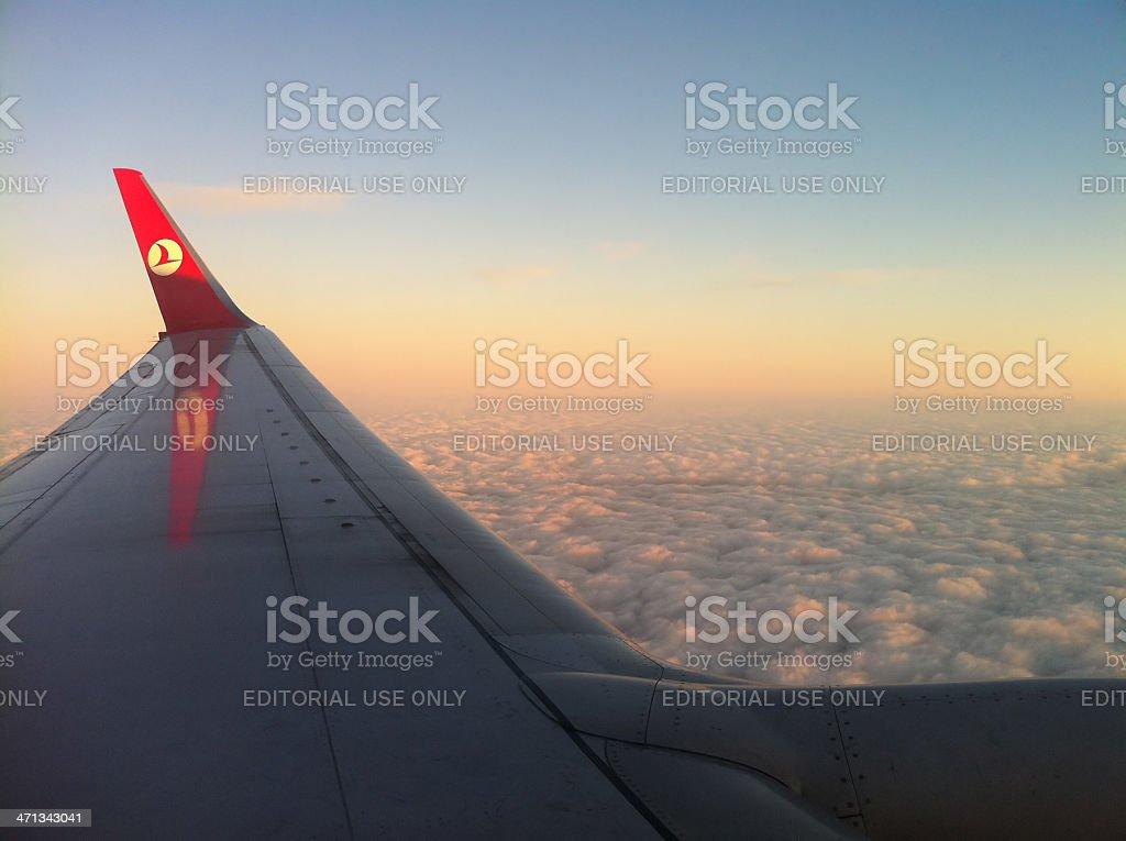 Airline Travel, Turkey stock photo
