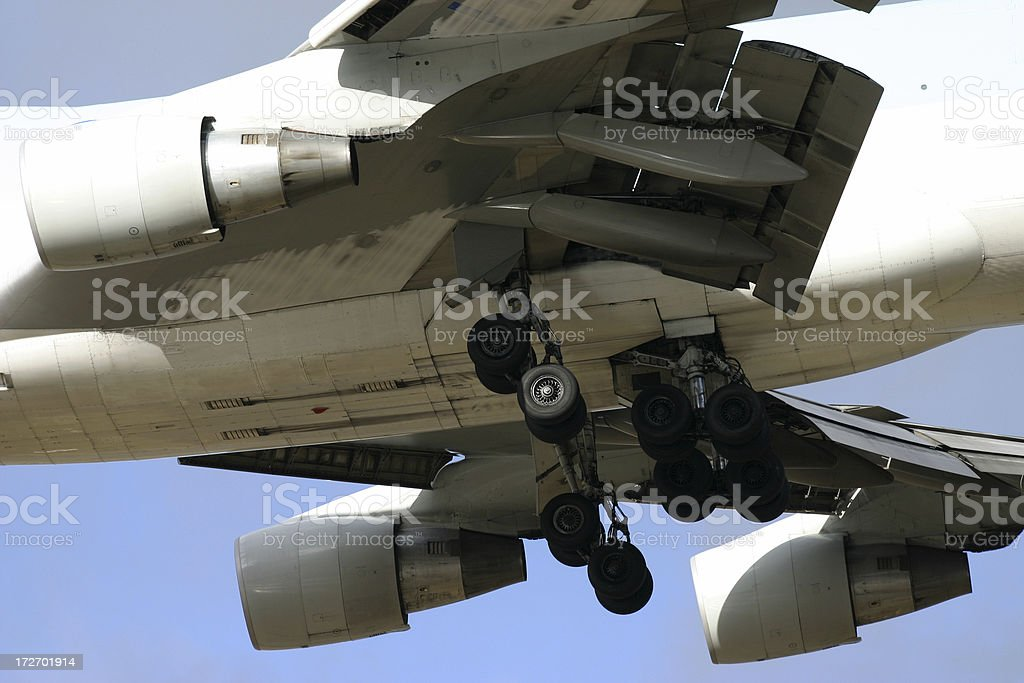 Airliner detail royalty-free stock photo
