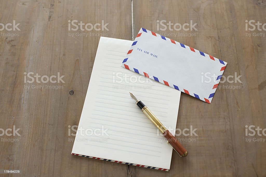 Airmail royalty-free stock photo