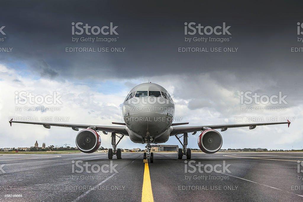 AirMalta Airbus A320 royalty-free stock photo