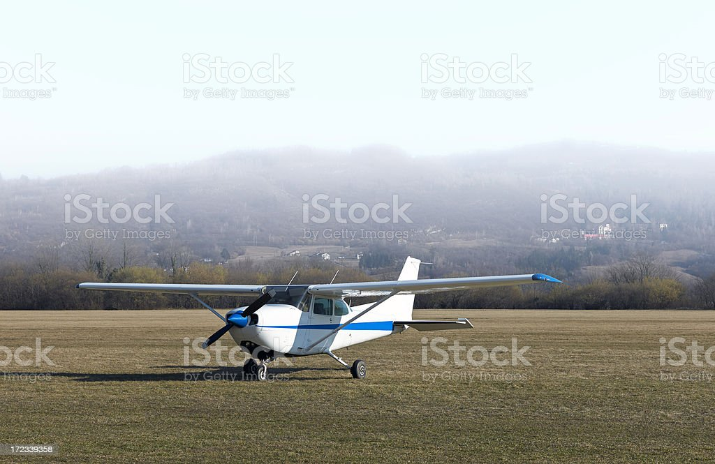 Airplain. Color Image royalty-free stock photo