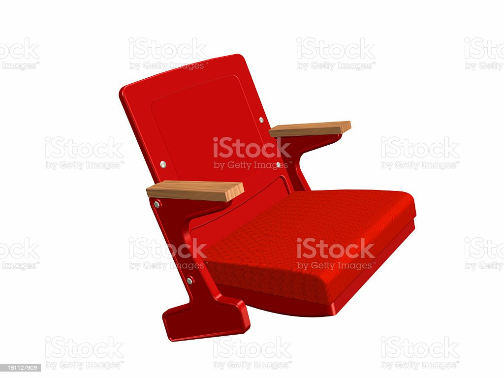 Airplane Chair royalty-free stock photo