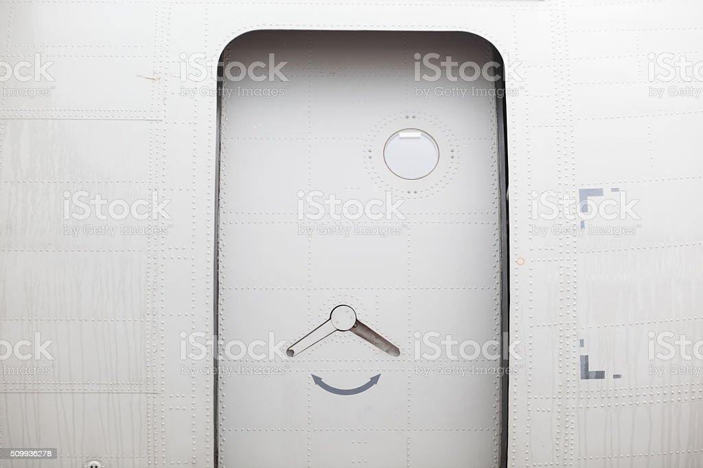 ... Airplane door stock photo ... & Airplane Entrance Pictures Images and Stock Photos - iStock Pezcame.Com