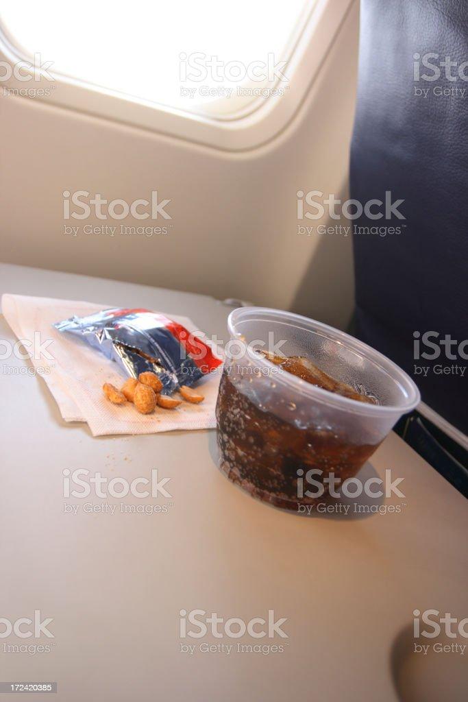 Airplane Food stock photo