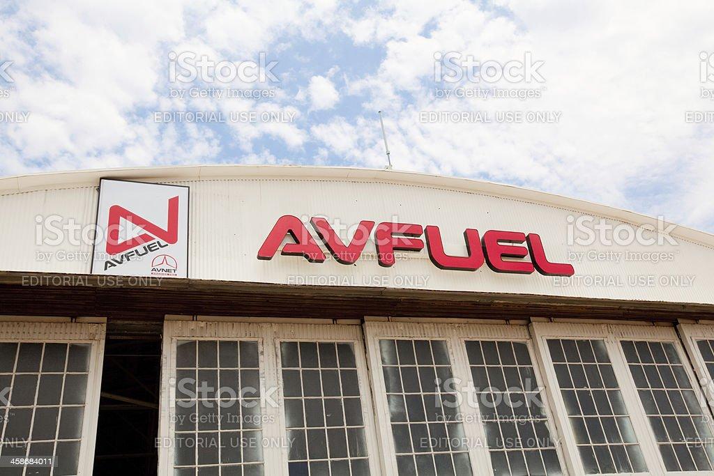 Airplane Fuel stock photo