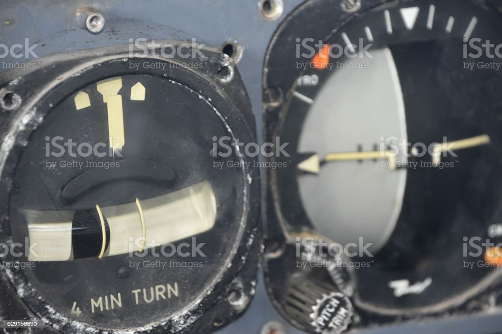 airplane Gyroscope stock photo