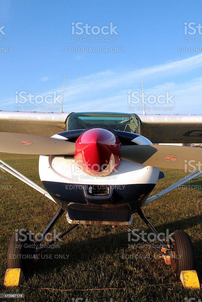 Aeroplano in Inghilterra foto stock royalty-free