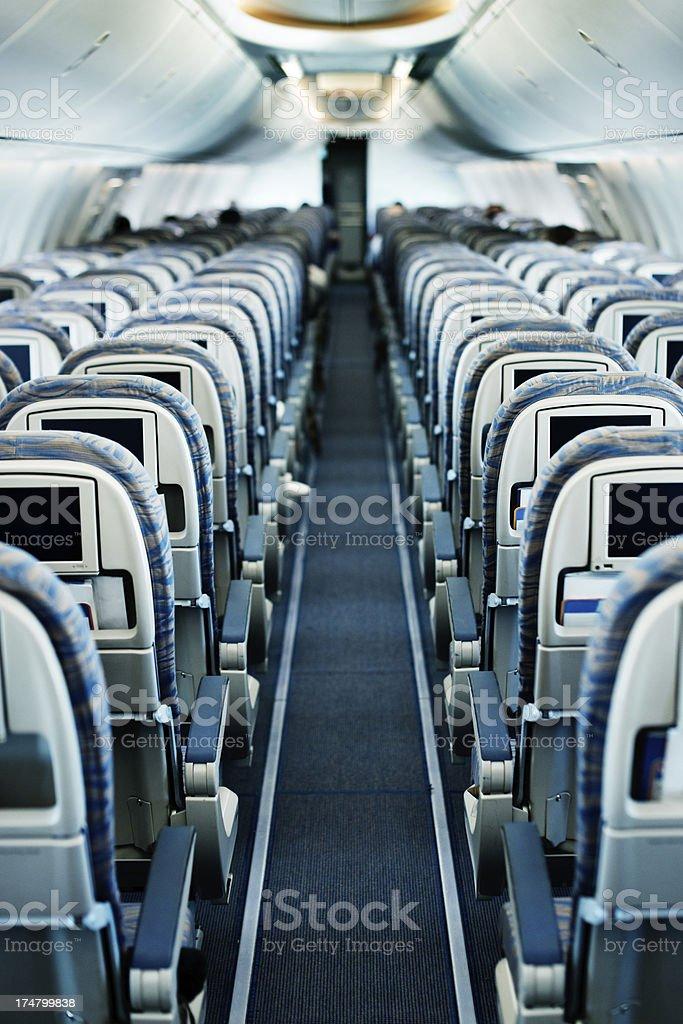 Airplane isle royalty-free stock photo