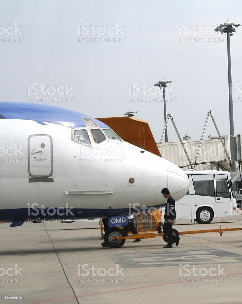 飛行機の鼻 ロイヤリティフリーストックフォト