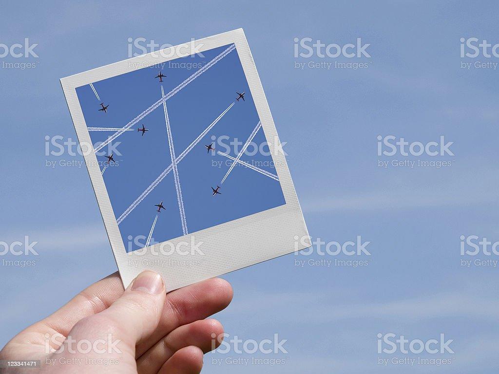 Airplane Photo royalty-free stock photo