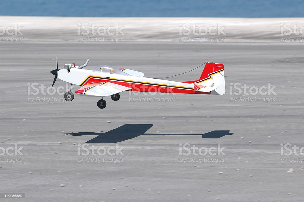R/C airplane royalty-free stock photo