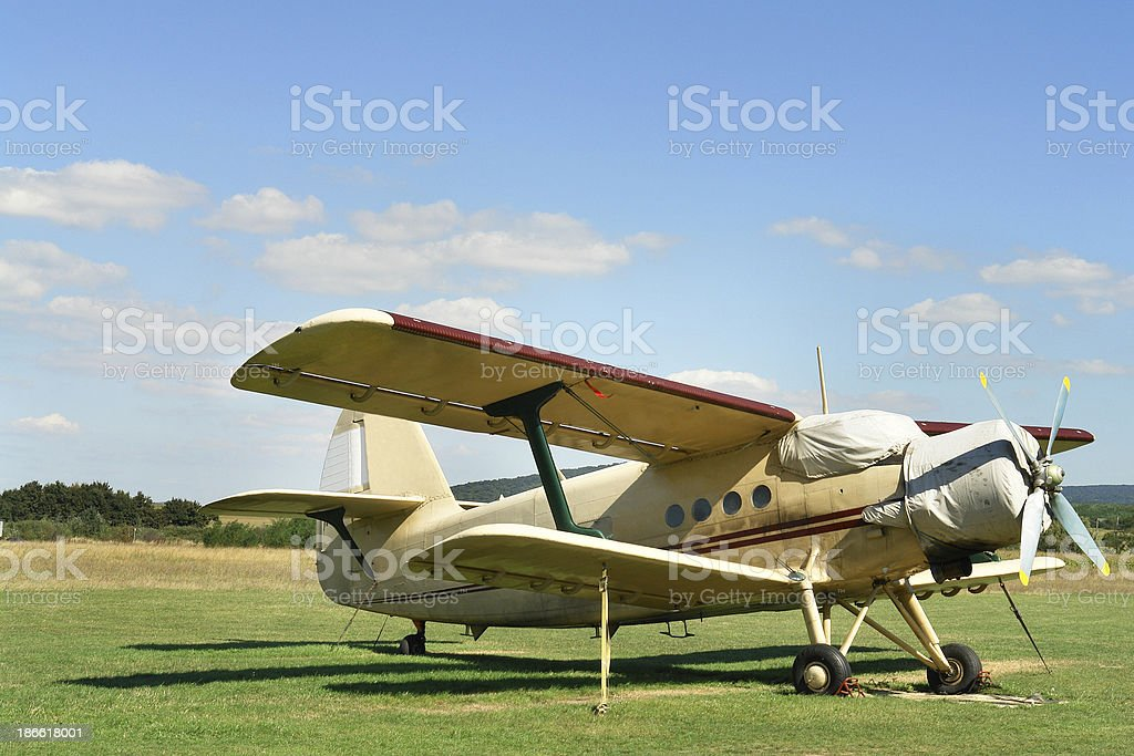 Airplane (Click for more) royalty-free stock photo
