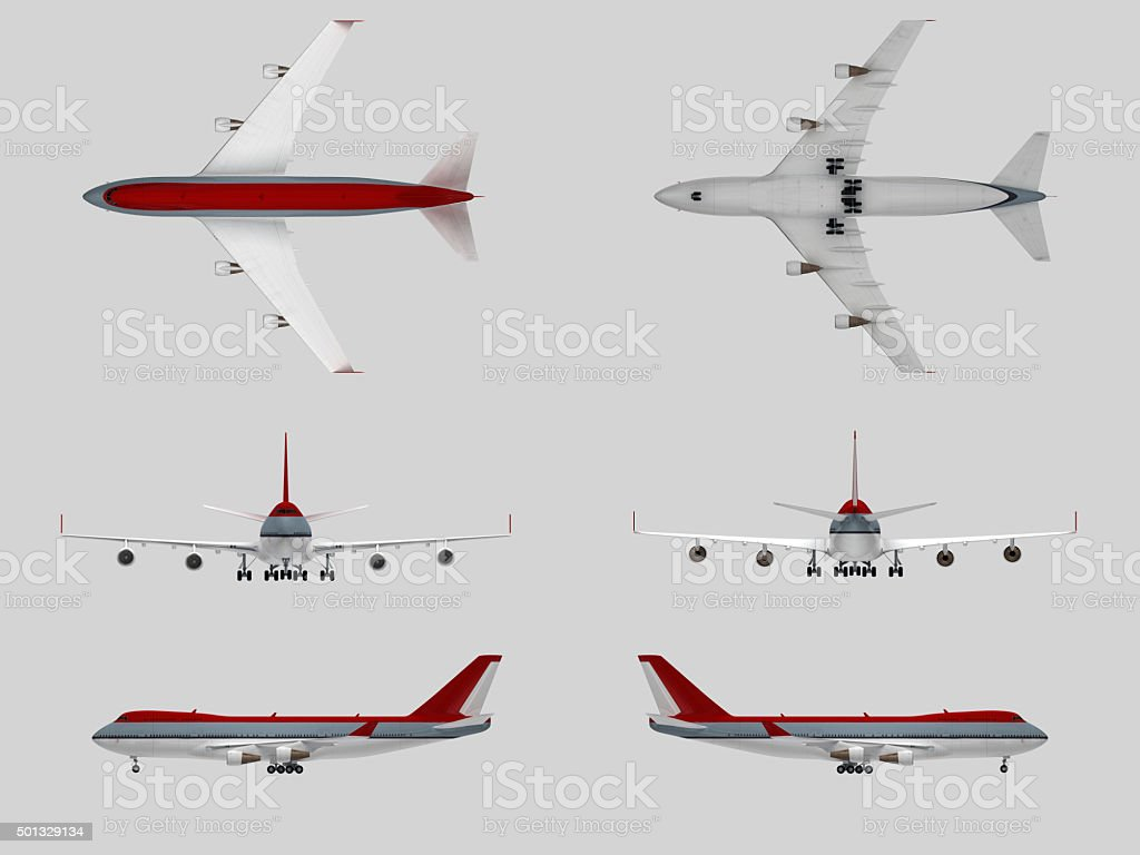 Airplane(XXXXXL) stock photo
