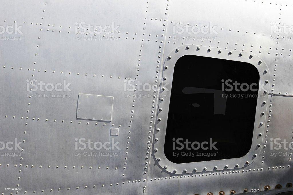 Airplane! Retro Fuselage royalty-free stock photo