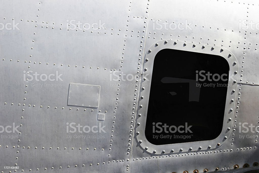 Airplane! Retro Fuselage stock photo