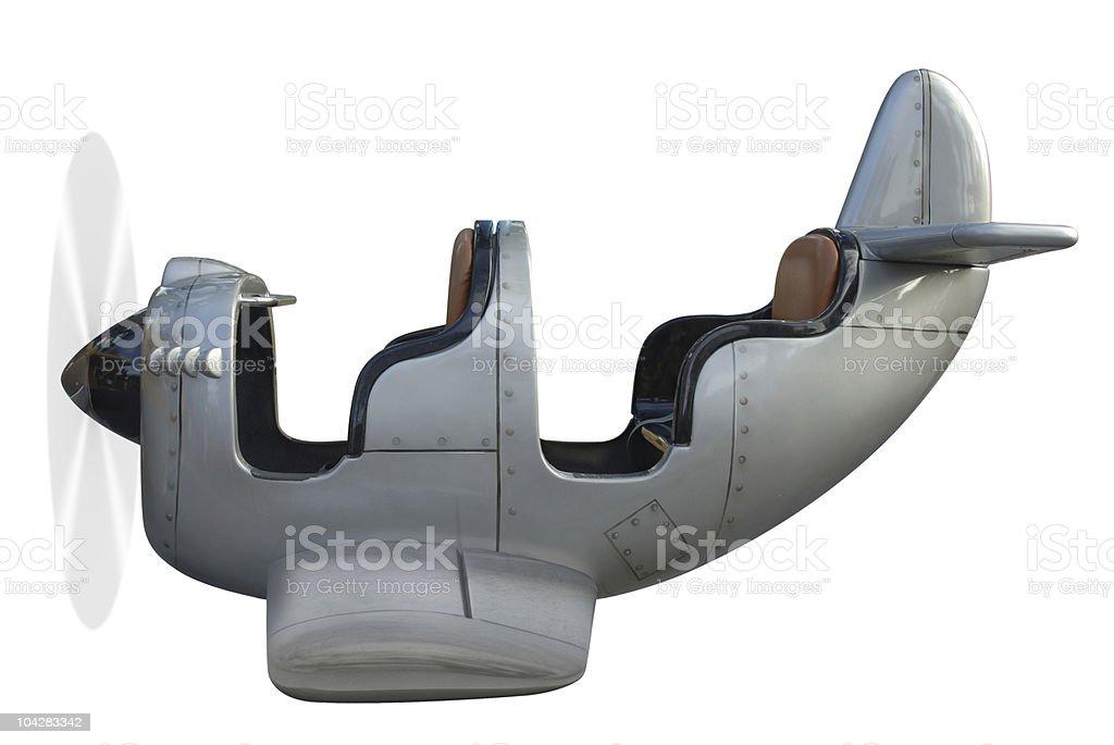 Airplane Ride stock photo