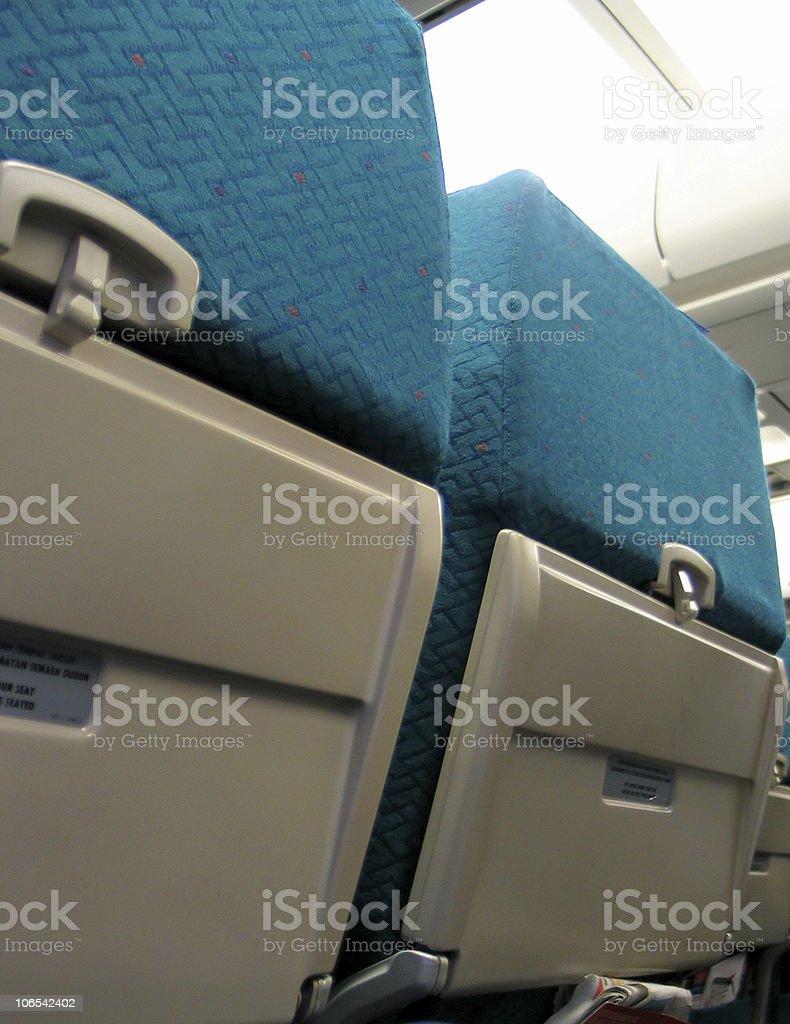 Airplane Seat royalty-free stock photo