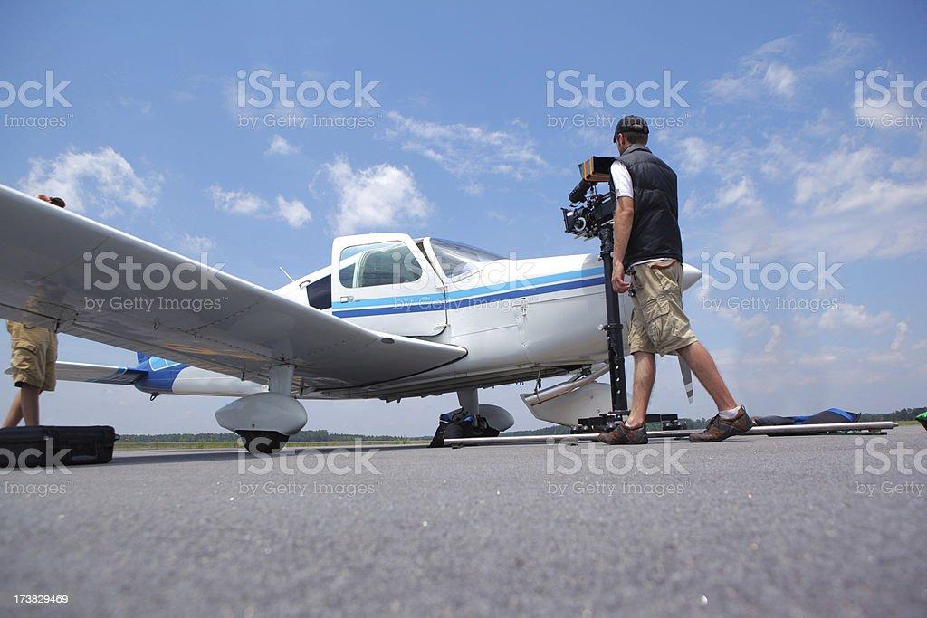 Airplane Shoot stock photo