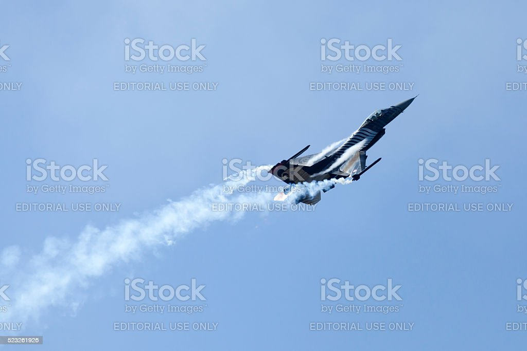 Airplane Show stock photo