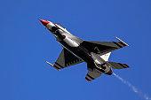 Airplane US Air Force Thunderbirds F-16
