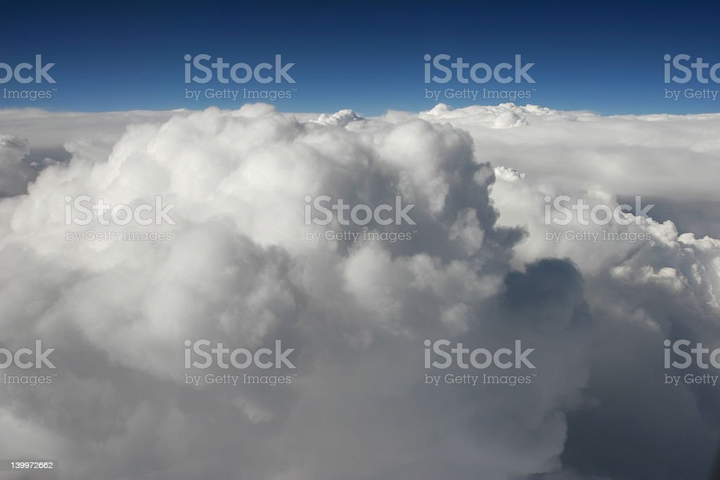 Airplane View royalty-free stock photo