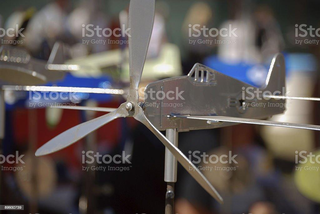 Airplane Whirlygig royalty-free stock photo