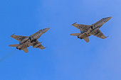 Airplanes Marines F-18 Hornet fighters