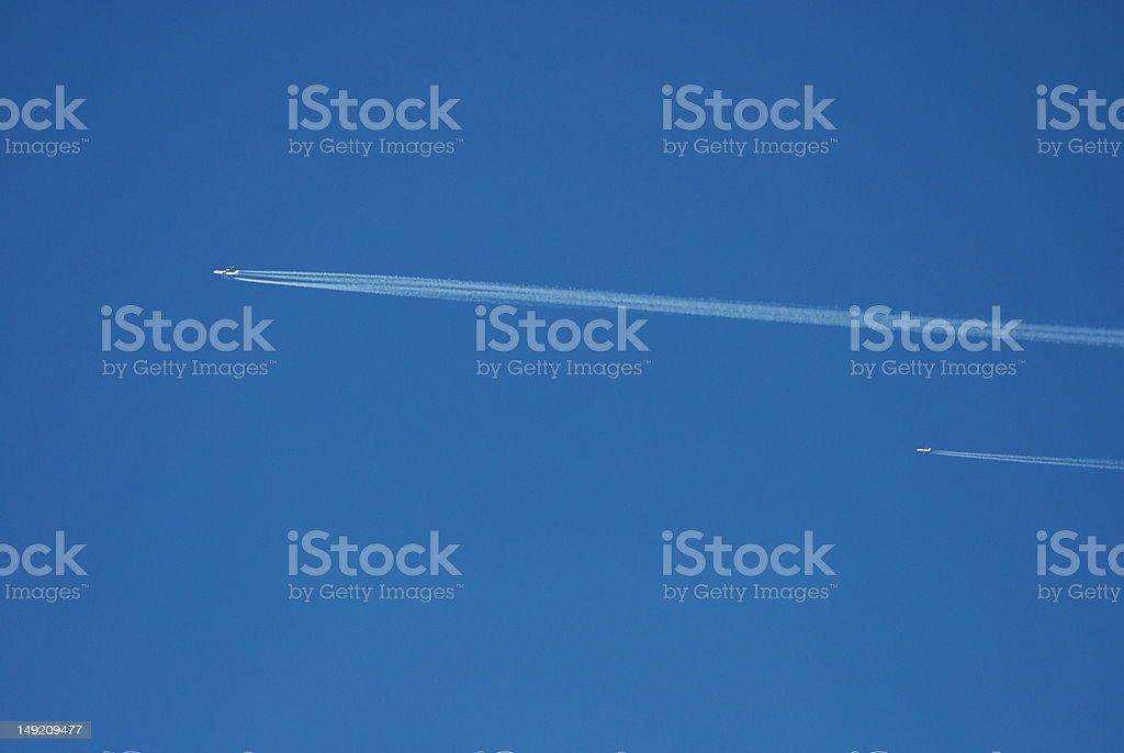 Flugzeuge royalty-free stock photo