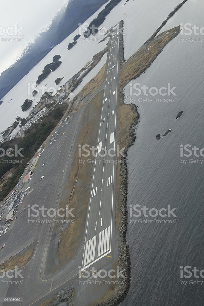 Airport Aerial royalty-free stock photo