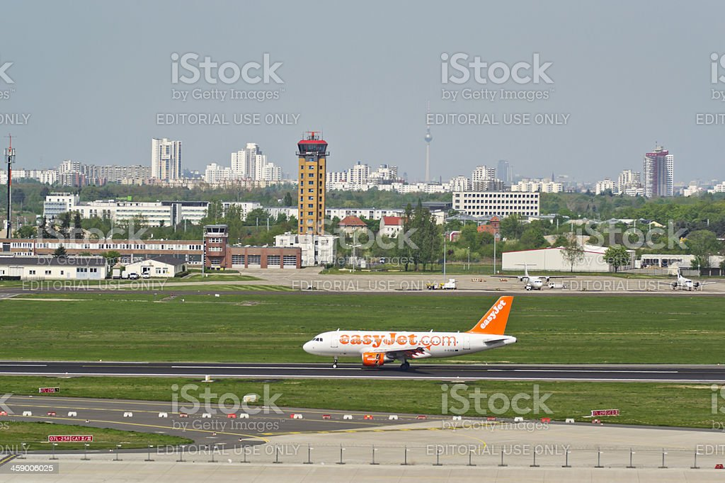 Airport Berlin - Brandenburg royalty-free stock photo